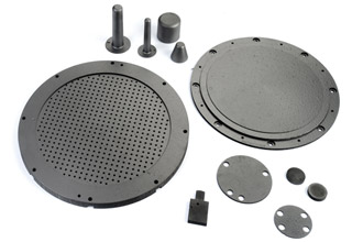 Pyrolytic graphite parts
